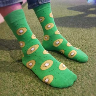 kiwi slices food socks