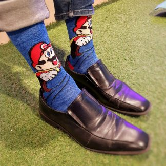 Super Mario Game Socks
