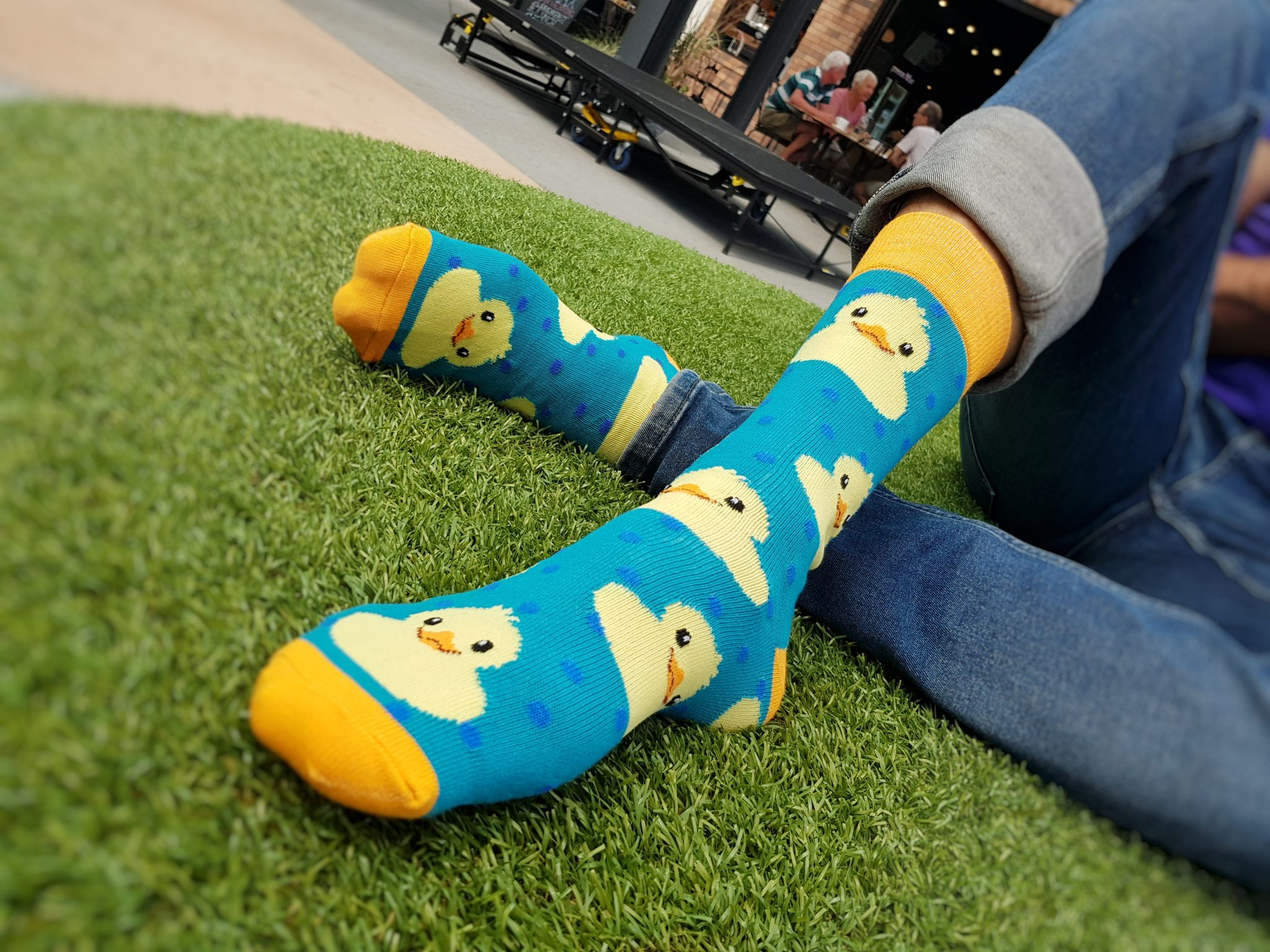 rubber ducky animal socks